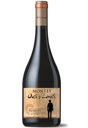 Montes Outer Limits Pinot Noir 2015 © Montes